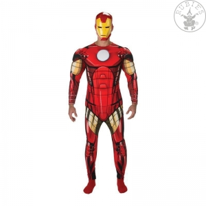 Iron Man Avengers Assemble Deluxe - Adult