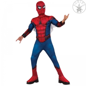 Strój Spider-Man FFH Red-Blue Deluxe - Child